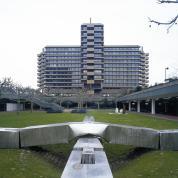 Ansgar Nierhoff: Plastische Kreuzung, 1977 / © VG Bild-Kunst, Bonn; Fotonachweis: Michael Goergen (2005)