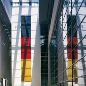 Gerhard Richter: Schwarz Rot Gold, 1998 / © Gerhard Richter; Fotonachweis: DBT / Werner Huthmacher (2002)