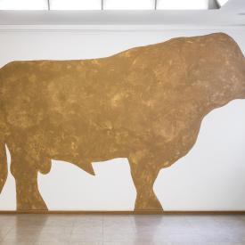 Felix Droese: Stiere, 1999 / © VG Bild-Kunst, Bonn; Fotonachweis: BBR / Cordia Schlegelmilch (2015)