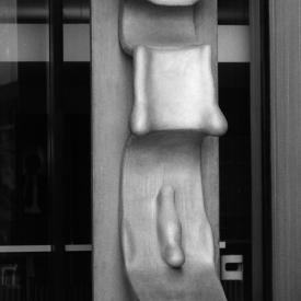 Wilhelm Loth: Großplastik 41/70 (Figur 41/70), 1973 / © Wilhelm Loth; Fotonachweis: BBR Archiv (vor 1980)